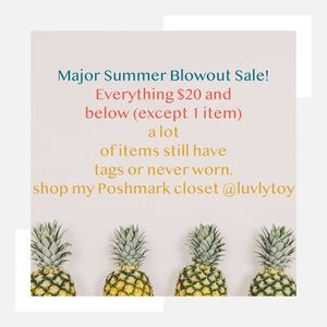 Other - Blow out sale